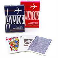 American original aviator Playing Cards for infrared Contact lens Magic Trick Decks Anti Gamble Cheat Poker Rigged Cards