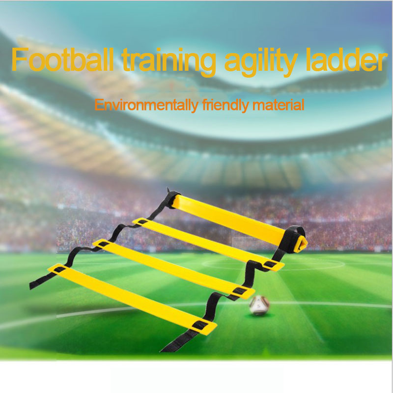 Training Ladder Agile Speed Stairs Football Fitness Equipment Football Training Rope Ladder Jump Lattice Energy Training Rope