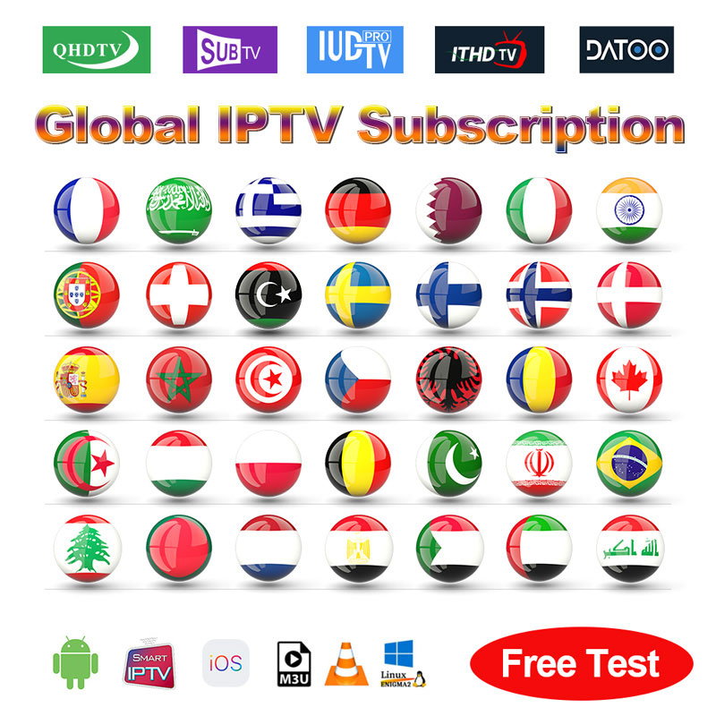 IPTV France Arabic Spain Portugal Italy Sweden QHDTV/SUBTV/IUDTV IPTV Subscription IPTV Dutch Canada Belgium Greek Germany IP TV