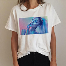 T Shirt Women Ariana Grande 7 Rings Fashion Harajuku Thank U