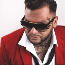 Classic Man Spuare Sunglasses Women Vintage UV400 Luxury Brand design Fashion Goggle Handmade High Quality 97123