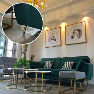Image 5 - 4 stücke Metall Möbel Beine Gold Vertikale/Geneigt Rohr Sofa Füße für TV Schrank Schrank Füße Unterstützung Möbel Zubehör
