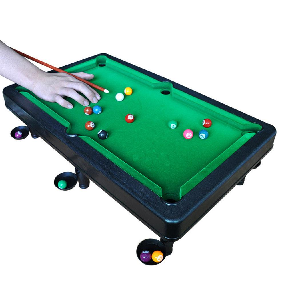 Mini Billiard Board Games For Children Mini Tabletop Pool Set Home Party Billiards Children Billiards Table Balls Set Small