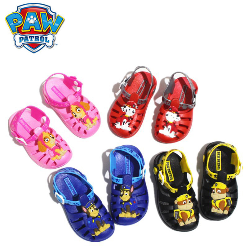 Paw Patrol Summer Slippers Light Shoes Super Soft Children's Sandals And Slippers Home Anti-skid Environmental Protection