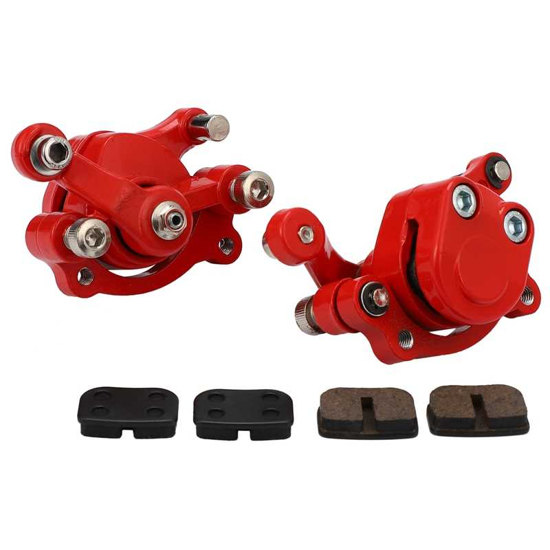 Front Rear Disc Brake Caliper Pads for 43Cc 47Cc 49Cc Chinese Mini Moto Kids ATV Quad Minimoto Dirt Pocket Bike Gas Scooter