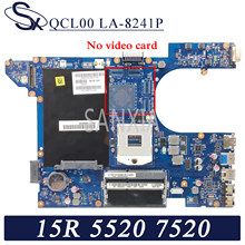 Kefu LA-8241P placa-mãe do portátil para dell inspiron 15r-5520 7520 original mainboard