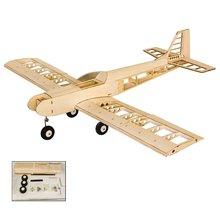 EP GP Balsa Wood Training Plane 1.4M Wingspan Biplane RC Air