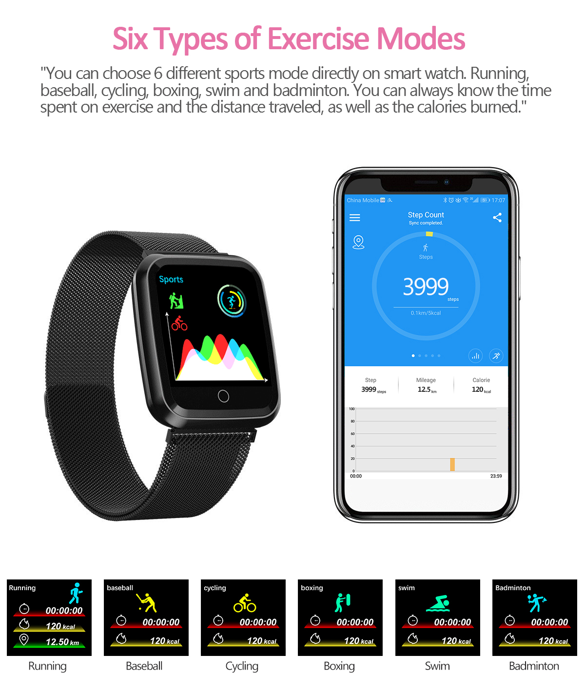 DAROBO N99 Sport and Heart rate monitor Smart watch with Waterproof Blood pressure monitor for men women available in Android IOS 12