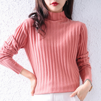 autumn-and-winter-half-high-neck-ladies-cashmere-knitted-100-wool-sweater-simple-and-versatile-pullover-new-product-regular