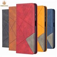 Funda magnética de cuero para Huawei Y5 Y6 Pro 2019 Y7 2018 Honor 8A 9A 10X Mate 30 Lite, carcasa con ranura para tarjetas