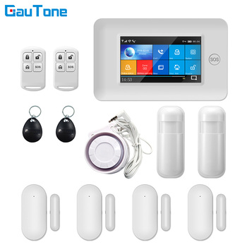 PG106 WIFI+GSM GPRS Wireless Home Security Burglar Alarm System APP Remote Control Alarm Host For Android and iOS free shipping android and ios app control wireless home security gsm alarm system intercom remote control autodial siren sensor
