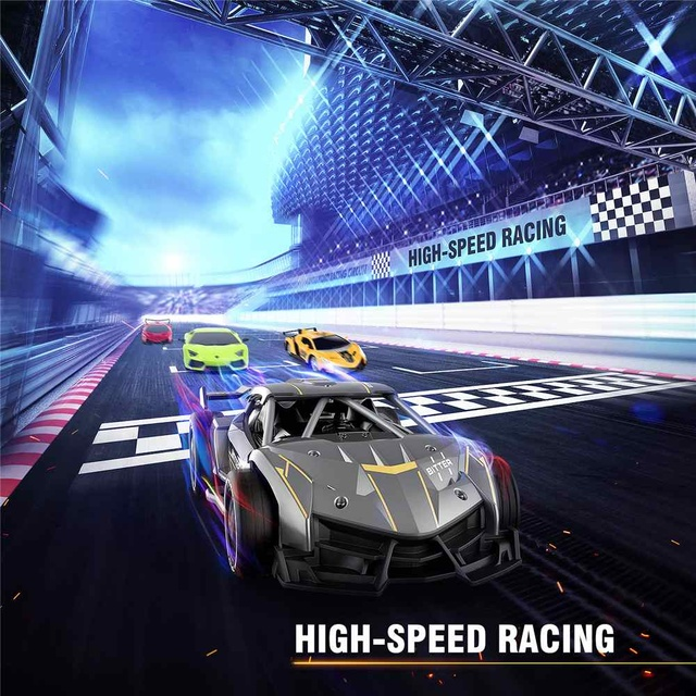 Eachine EC05 1:24 2.4G  4WD Remote Control Aluminum Alloy High Speed Electric Racing Climbing RC Cars Drift Vehicle Model Toys 2