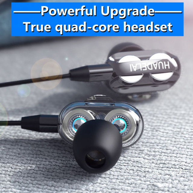 3.5mm Wired Headphones With Bass Earbuds Stereo Earphones Music Headphones Sport Earphones Gaming Headset With Mic for Xiaomi 2