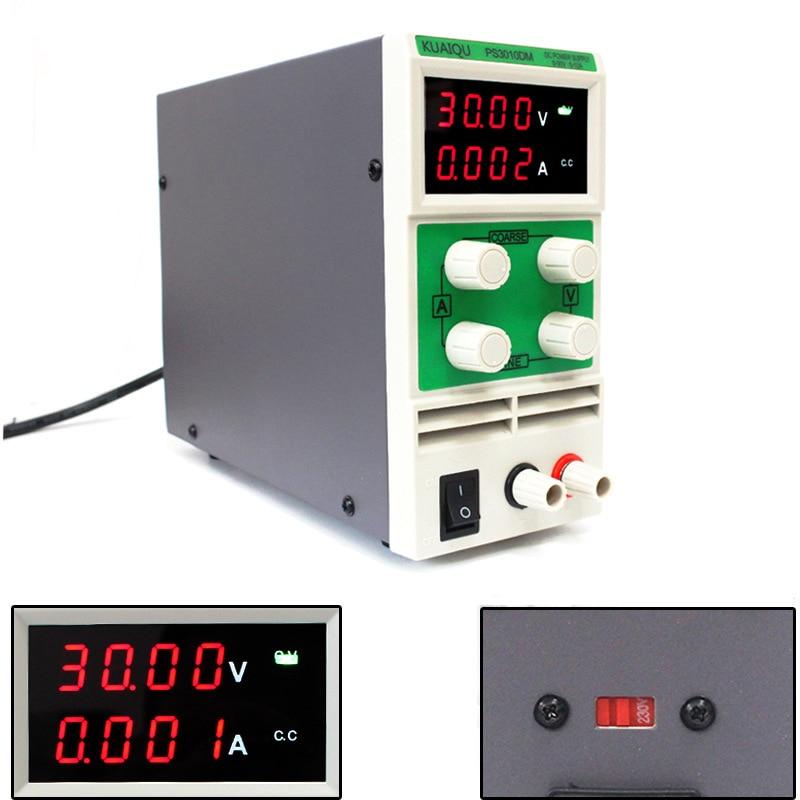 Источник питания постоянного тока PS3010DM PS305D PS605D, регулируемый лабораторный цифровой регулятор переменного напряжения с четырьмя дисплеями ...