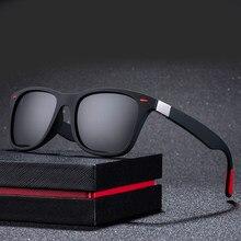 Gafas de sol polarizadas para hombre y mujer, anteojos de sol unisex con diseño de marca parágrafo conducir,marco cuadrado, con UV400