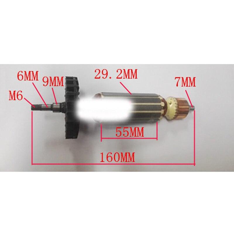 Armature Anchor Replace For MAKITA GA5030 GA4530 GA4030 GA5034 GA4534 GA4031 PJ7000 GA4030R GA4034 9558HN Angle Grinder Rotor