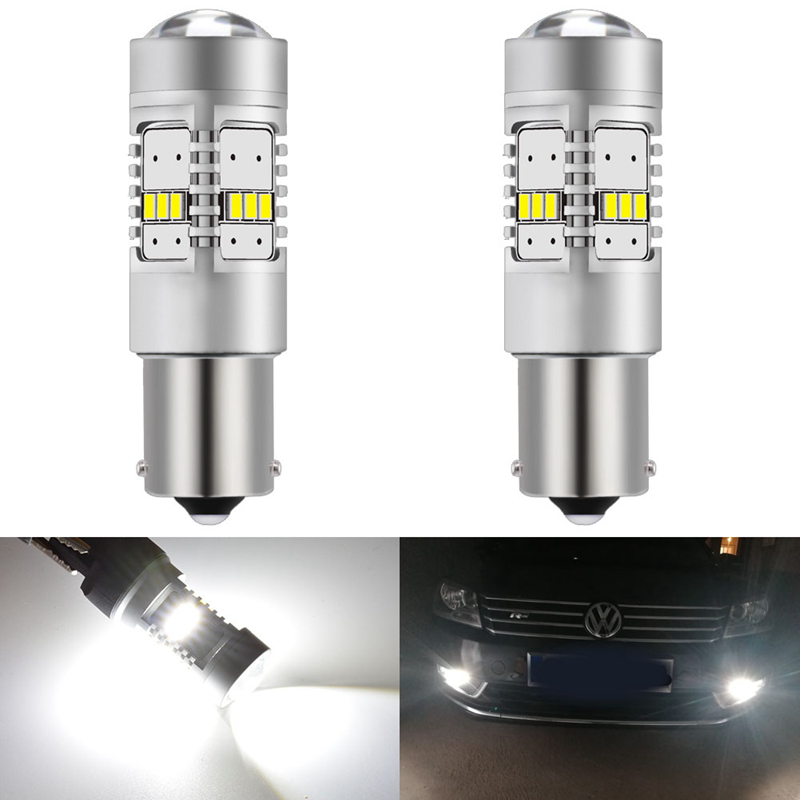2x Toyota MR2 MK3 Bright Xenon White 8SMD LED Canbus Number Plate Light Bulbs