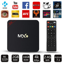 Android 7.1 TV BOX MX9 RK3229 Quad Core