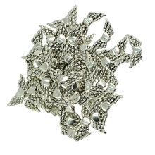 170pcs Antique Silver Charms Pendant Dream Catcher Charm/Angel Wing Heart Beads /Feather Charms Pendants