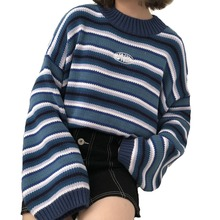 2019 Women s Winter Sweater New Harajuku Fashion Kawaii Loose Tops Retro Sweet Pullover Korean Casual