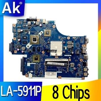 La placa base del ordenador portátil para For Acer ASPIRE 5551G 5552G...