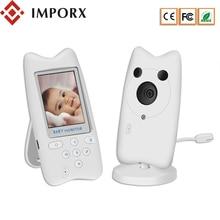 IMPORX Video Baby Monitor 2.4 inch Electronic Babysitter Radio Video Nanny Camera Night Vision Temperature Monitoring 6 Lullaby все цены