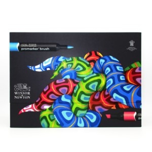 Image 1 - Winsor & Newton Brushmarker 48 Colors Essential Collection  Markers Set