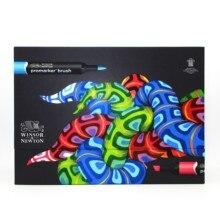 Winsor & Newton Brushmarker 48 색 필수 컬렉션 마커 세트