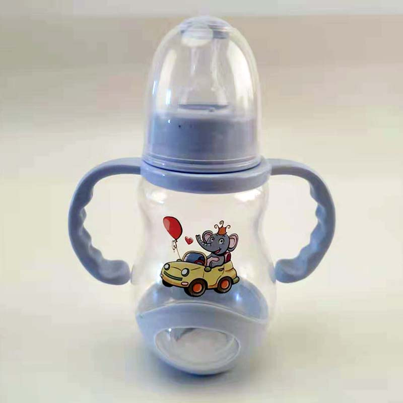 Baby Feeding Bottle Special-purpose Feeding Bottle Infant Baby Handle Cup Baby Care Defence Flatulence Pp Baby Bottle 160ml