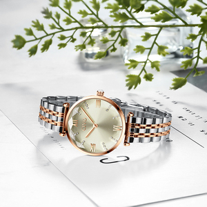 Image 4 - CIVO Fashion Girl Watch Luxury Crystal Silver Steel Dress Ladies Watches Waterproof Womens Bracelet Wristwatch Clock For Woman