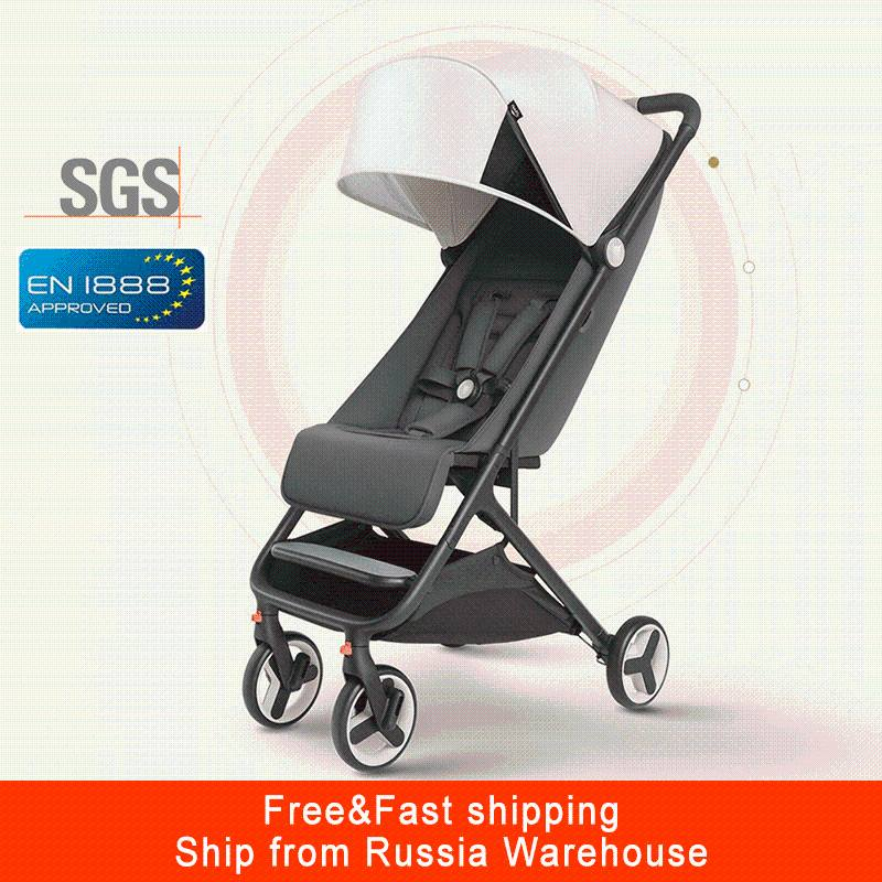 Mitu Baby Stroller Plane Lightweight Portable Travelling Children Pushchair Folding Stroller Suitable 4 Seasons For Kid
