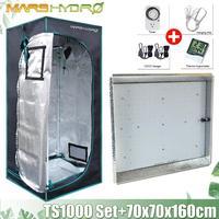 Mars Hydro TS 1000W Set LED wachsen licht + 70x70x160cm Wachsen Zelt Box Combo kits Hydrokultur-in LED-Wachstumslichter aus Licht & Beleuchtung bei