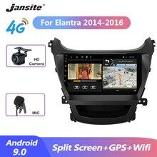 цена на Jansite 9 Car Radio 2 din Android 9.0 player For Hyundai Elantra 2014-2016 4G Navigation GPS 4G + 64G Multimedia Video Players