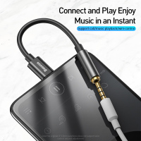 Baseus Type C to 3.5mm Earphone Jack AUX USB C Cable Headphones Adapter 3.5 Jack Audio cable For Huawei P20 Xiaomi Mi 10