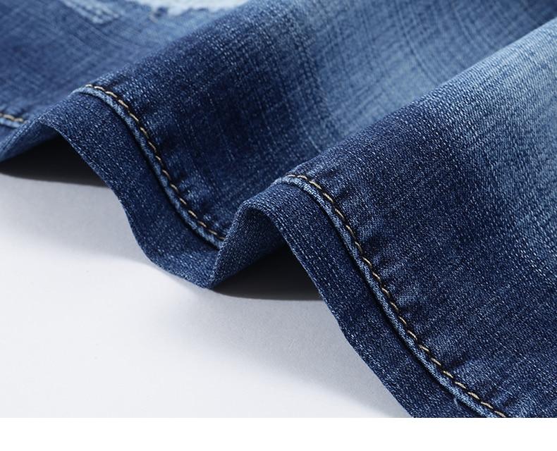 KSTUN Jeans Men Slim Fit Blue Summer Thin Ripped Jeans Men Streetwear Hip Hop Denim Pants Men's Clothes Wholesale Dropshipping 18