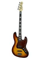Feeling 4 strings electric bass Guitar JBbass 1 sunburst color basswood body&sides