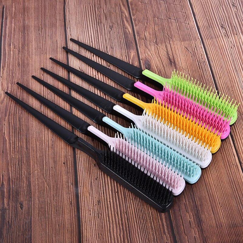 1 шт. профессиональная расческа для волос заостренный хвост расческа предотвращает выпадение волос салонная щетка для волос инструмент для...