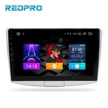 """10.1 """"IPS Android 9.0 samochodowy odtwarzacz stereofoniczny dla VW Passat B6 B7 CC Magotan 2013 2015 nawigacja GPS FM multimedialne radio samochodowe bez DVD"""