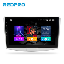 """10.1 """"ips android 9.0 player estéreo de carro para vw passat b6 b7 cc magotan 2010 2019 navegação gps rádio automotivo multimídia, fm sem dvd"""