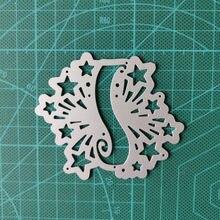 Металлические Вырубные штампы для баннеров звездное украшение
