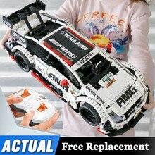 Fernbedienung Benzs Auto Set Kompatibel mit Technik MOC 6687 RC Auto Bausteine Ziegel Spielzeug Für Kinder Geschenke