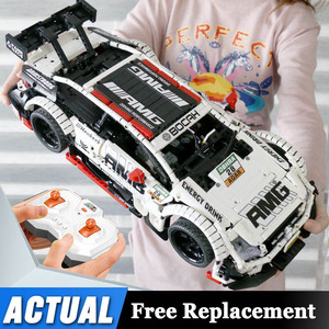Image 1 - Remote Control Benzs Car Set Compatible with Technic MOC 6687 RC Car Building Blocks Bricks Toys For Children Gifts