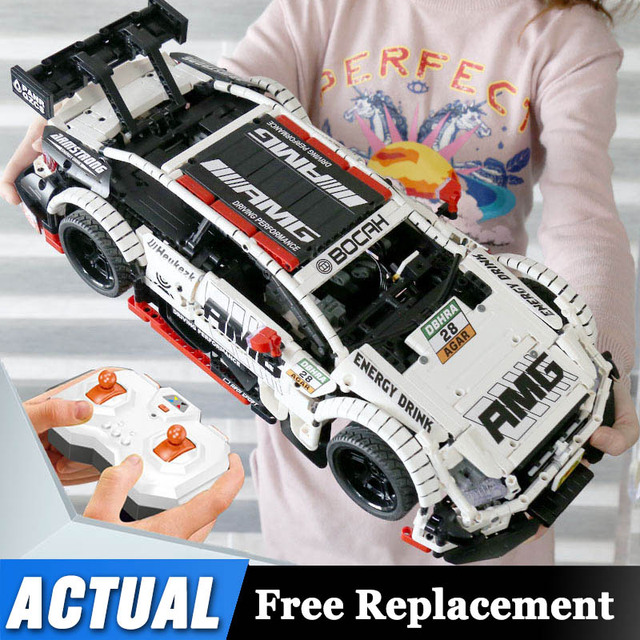 Remote Control Benzs Car Set Compatible with Technic MOC 6687 RC Car Building Blocks Bricks Toys For Children Gifts