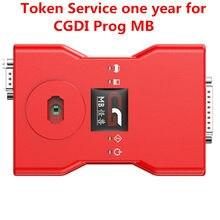 Usługa tokena jeden rok dla CGDI Prog MB b-enz programator kluczy samochodowych