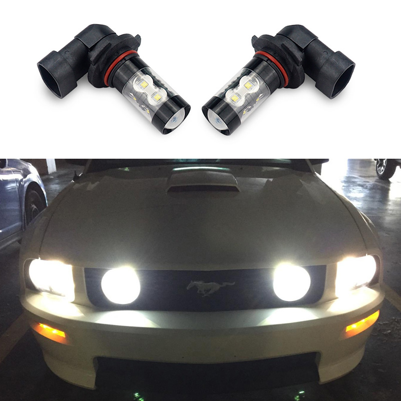 2Pcs 880 881 H27 LED Bulb H8 H11 LED Fog Light Bulbs For Hyundai Solaris Elantra Sonata Accent Tucson Ix35 I20 I40 Car Fog Lamp
