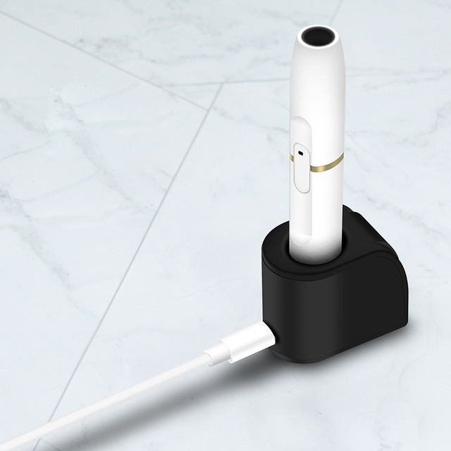 Stand Chargers Smoke Rod Charger for IQOS Heating Non combustible Magnetic Charging Stand Dock