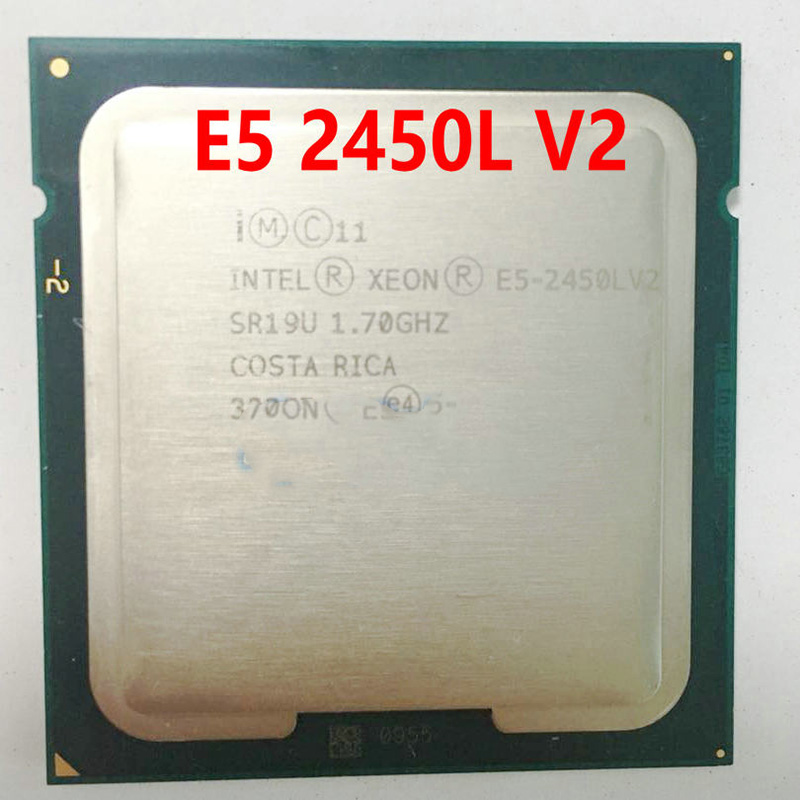 Pulled <font><b>E5</b></font>-<font><b>2450L</b></font> <font><b>V2</b></font> Server cpu 1.7G 25M 10Core 20 Thread LGA1356 Processor image