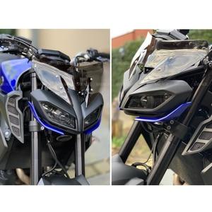 Image 5 - オートバイヤマハMT 09/sp FZ 09 2017 2018 2019 2020 フロントガラスパレ brise · ウィンドディフレクターMT09 FZ09 mt fz 09