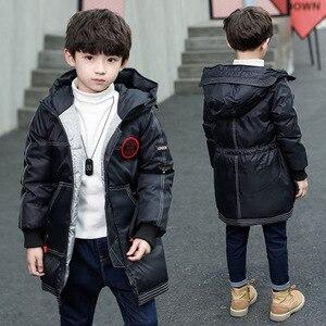 Image 1 - Kinder tragen jungen baumwolle gefütterte jacke neue kinder winter mantel