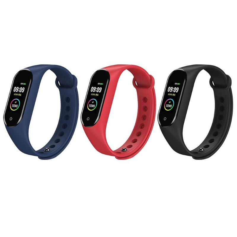 M4V Smart sports bracelet Smart Wristband smart watch IP67 Heart Rate Monitor Fitness Tracker Smart Bracelet for android ios